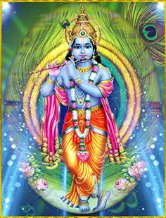 """GOVINDA  """"The sun who is the king of all the planets, full of infinite effulgence, the image of the good soul, is as the eye of this world. I adore the primeval Lord Govinda in pursuance of whose order the sun performs his journey mounting the wheel of time.""""~Brahma-samhita 5.52"""