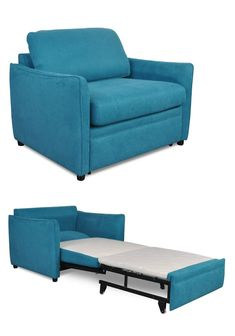 Chair That Turns Into Twin Bed Chair Sofa Bed Armless