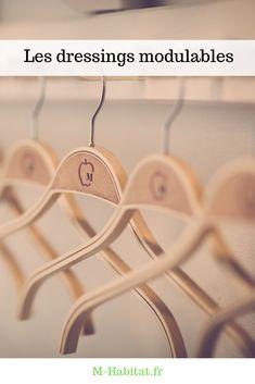 Les dressings modulables s'imposent comme une véritable solution pratique, adaptée à toutes les configurations de chambres et quelle que soit la garde-robe dont on dispose. #dressing #modulable