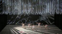 ES DEVLIN_CONNECTOME Royal Ballet May 2014 Choreography : Alistair Marriott Design : Es Devlin Costume: Jonathan Howell Lighting : Bruno Poet Video Design: Luke Halls
