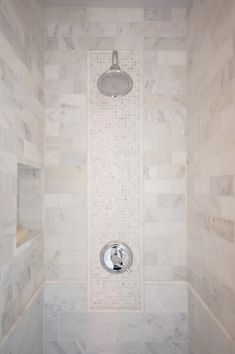 Courtney Blanton Interiors - bathrooms - walk in shower, shower tiles, shower tile ideas, calcutta gold tiles, calcutta gold marble tiles, d...