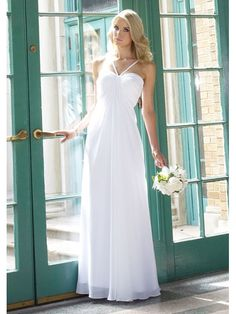 Unique 2012 Style Long Sweetheart Spaghetti Haltter Two Layer Beach Wedding Dresses BD-7017