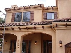 spanish-style shutters