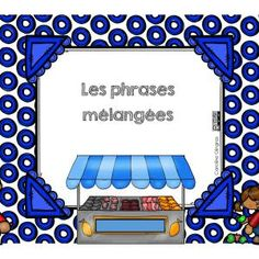 Ateliers-Français-Vocabulaire- Alimentation-Caroline Gingras Créations France, Creations, Boutique, Readers Workshop, Spelling, Vocabulary, Stuff Stuff, Food, Early French