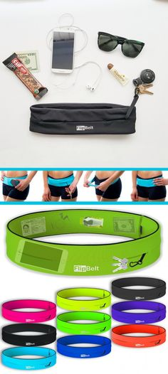Take your stuff but stay handsfree - FlipBelt Running Workouts, Workout Gear, Fun Workouts, Outdoor Workouts, Running Belt For Phone, Fitness Diet, Fitness Motivation, Flip Belt, Race Training