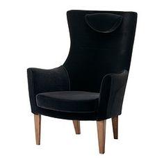 STOCKHOLM Sessel mit hoher Rückenlehne - Sandbacka schwarz - IKEA