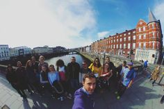 Let's start our Cork City Tour with a lovely group of new students and a nice blue sky! #CorkEnglishCollege #CityTour #Cork #Ireland #CorkCity #CEC #NewStudents #Welcome #Selfie #LearnEnglish #StudyAbroad #InstaCork #Theta360 #Photo360 #CorkCityCentre #LovingCork #HelloCork_ #VictorianQuarter