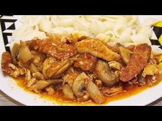 szazsu - YouTube Easy Entertaining, Kung Pao Chicken, Lunch, Meat, Ethnic Recipes, Youtube, Food, Eat Lunch, Essen