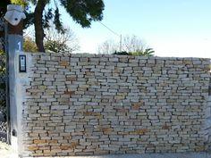 Muretto in pietra a secco
