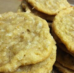 Brown Sugar Oatmeal Coconut Chewies Recipe ~ these are the BEST!