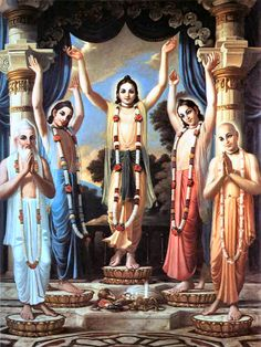 Sri Pancha Tattva - The Lord in Five Features