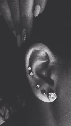 Ear piercing. #piercings #placement #cartilage