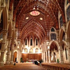 Holy Name Cathedral, Chicago (view from the back)