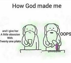 It's perfect tho. God doesn't make mistakes. :)