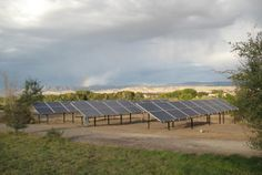Backyard Solar Panels