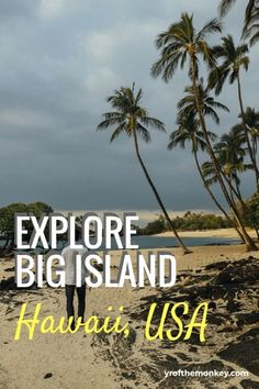 The ultimate travel guide to Big Island, Hawaii, USA listing the top attractions and yummy local food that you must try. Includes secret beaches, active volcano lava viewing and a coffee tour. #hawaii #USA #travel #Bigisland #coffee #kona