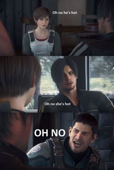 Sorry Chris, Leon isn't going to help you with the Redfield bloodline… Leon S Kennedy, Video Games Funny, Funny Games, Oh No He's Hot, Julia Voth, Resident Evil Collection, Resident Evil Girl, Bronze Skin, Mystic Messenger