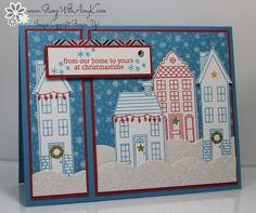 Holiday Home Christmas Card