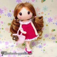 Amigurumi Sweet Doll-Free Pattern (Amigurumi Free Patterns)