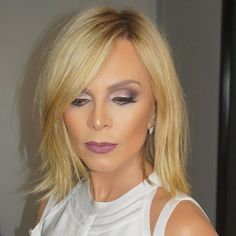 This time it's for real @tamrajudge I did a #chopchop #haircut moments before she went on #wwhl tonight. #makeup #facebeat by my sidekick @mspriscillanyc #rhoc #juliusmichael #razorcut  #glamgasim products used @sharkfinshears razor to give her a texture cut. @lorealpro next day hair for texture and body. @kenraprofessional taffy for ends and to create separation. Thank you @ortizart & @ephankin for taking all the #BTS video and pictures of this creation tonight.