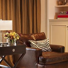 Distressed Leather Design Ideas, Pictures, Remodel, and Decor - page 11