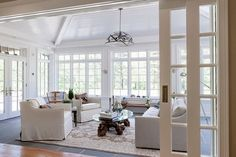 Browse images of sunroom designs and decoration. Discover ideas for your four seasons room enhancement, consisting of inspiration for sunroom decorating and also designs. House Design, Relaxation Room, Family Room Addition, Family Room, Home, Home Additions, Four Seasons Room, House Interior, Sunroom Designs