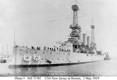 USS New Jersey (BB-16) Virginia class