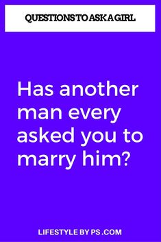 question to asked a girl