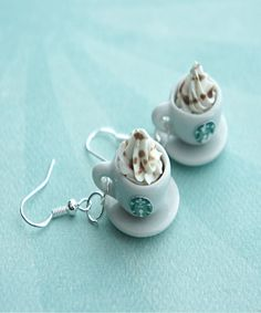 starbucks coffee earrings - Jillicious charms and accessories - 2