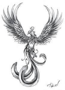 Phoenix Tattoo Commission Tattoos