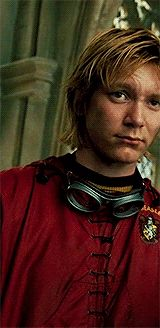 Fred Weasley in his quidditch uniform