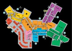 Mall Map For Sawgrass Mills®, A Simon Mall - Located At Sunrise,