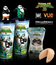 Working with Vue, 20th Century Fox and DreamWorks we've created cinema POS and digital assets for this KungFu Panda retail promo. Check them out at your nearest Vue cinema or online!