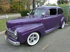 Purple NJ Sedan