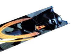New 52 Batman Superman Wonder Woman Bookmark inspired by DC Comics OOAK Laminated Recycled. $8.00, via Etsy.