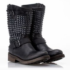 ASH-Trash Biker Boot BlacK Leather....for some reason, i love these! Couldn't pull them off, but i dig 'em.