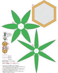 coroa do abacaxi (terceiro molde)