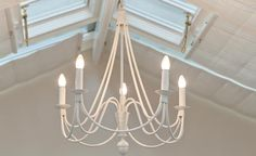 Ruben Chandelier - Five Lights - this cream model looks great in a white or pale-coloured conservatory. Conservatory Lighting, Conservatory Furniture, Large Chandeliers, Wall Lights, Ceiling Lights, Pendant Lighting, Candles, Interiors, Cream