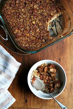 baked steel cut oats by alexandracooks, via Flickr 1/14:  A new favorite. Wonderful! It's good with or without the berries.
