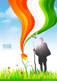 Illustration on Behance Happy Independence Day Gif, Independence Day Images Download, Independence Day Drawing, Banner Background Images, Poster Background Design, Indian Flag Photos, Indian Flag Wallpaper, India Poster, Alphabet Wallpaper