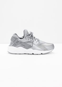& Other Stories image 1 of Nike Air Huarache  in Silver
