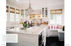 great kitchen featured in Lonny