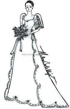 Wedding Gown Design B Mestiza gown (with detachable sleeves! Filipiniana Wedding Theme, Filipiniana Dress, Wedding Gowns, Maria Clara Dress Philippines, Philippines Dress, Barong Tagalog, Filipino Fashion, Traditional Dresses, Pretty Dresses