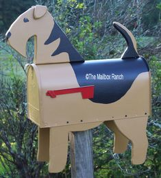 Airedale Terrier Mailbox