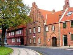 Oldest town hall Næstved, Denmark