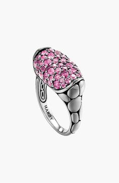 John Hardy 'Kali Silver Lava' Small Oval Ring available at Nordstrom