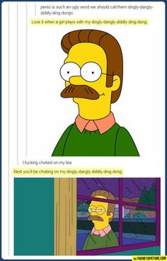 just burst out laughing at my desk....shame on your flanders!