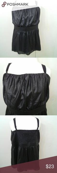 """[Lane Bryant] Faux Leather Peplum Top Size 24 Lane Bryant Black New with Tags 22""""Arm pit to arm pit (has additional stretch)23""""length. All measurements are taken lying flat and are approximate.No rips or stains. Colors may vary from screen to screen. Lane Bryant Tops Blouses"""