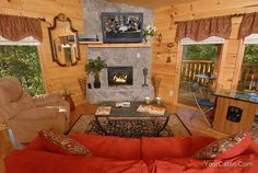 Gatlinburg Cabins and Pigeon Forge Cabins By Timber Tops Cabin Rentals - An Awesome Time -$200 a night, has pool table, arcarde came and internet.