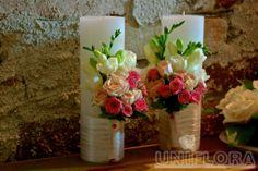 Lumanari cununie Vase Fillers, Candels, Roses, Weddings, Table Decorations, Bride, Creative, Handmade, Planters